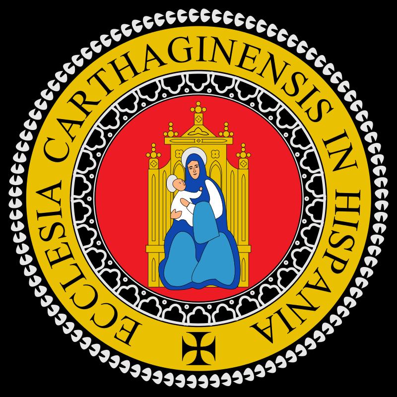 Escudo de la Diócesis de Cartagena
