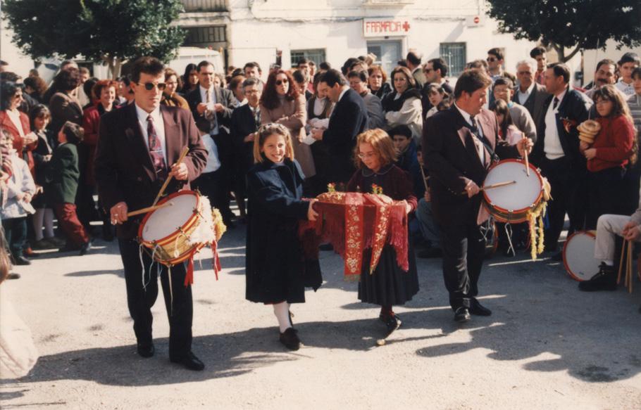 Fiestas y tradiciones somontineras; Paseo de la Rosca el día de San Sebastián