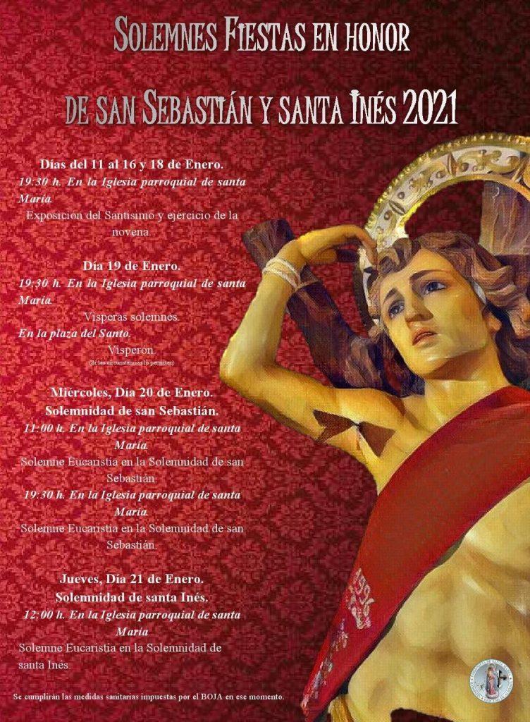Programa de las fiestas de San Sebastián 2021