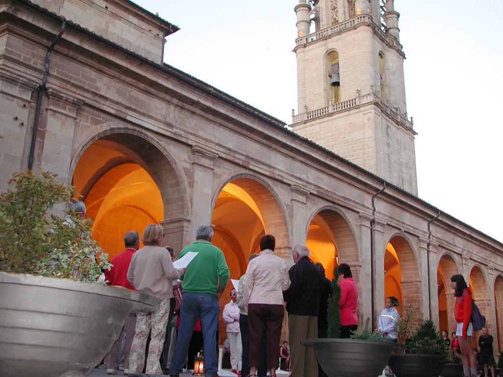Los Auroros cantando en Los Arcos (Navarra)