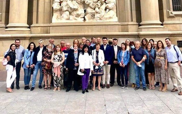 Peregrinación de la Hermandad Virgen del Pilar a Zaragoza